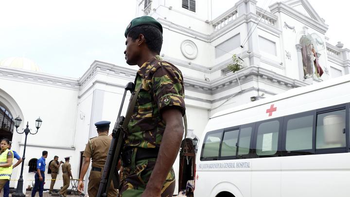 Армия Шри-Ланки сообщила о трех взрывах на востоке страны