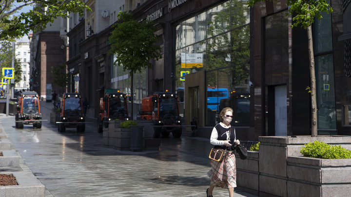 Москвичам показали онлайн-карту с графиком для прогулок: Пока она сбоит