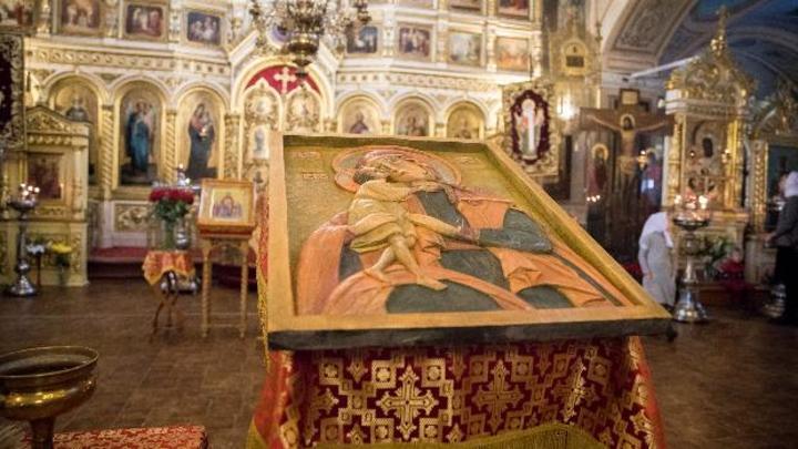 Прикоснуться к святыне: В Солнечногорском храме появилась первая тактильная икона