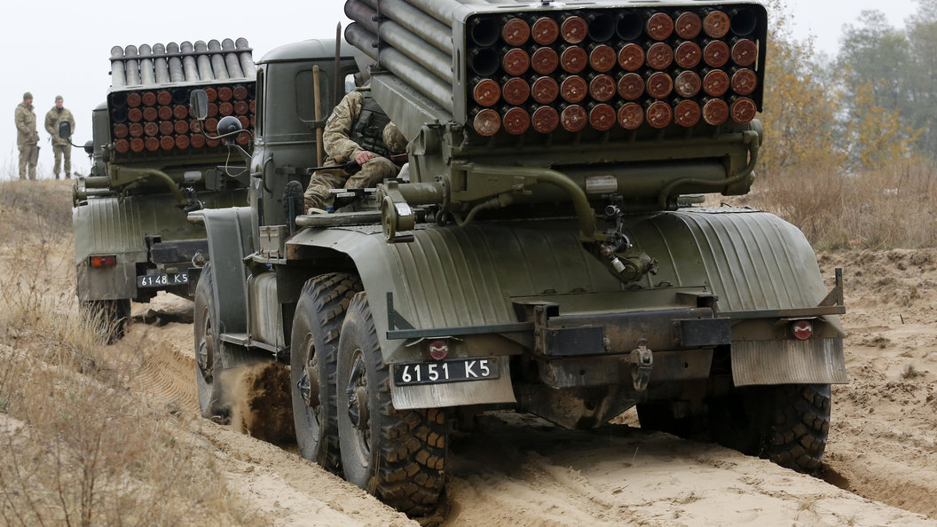 Украинские силовики готовятся кновым боевым действиям— Развездка ДНР