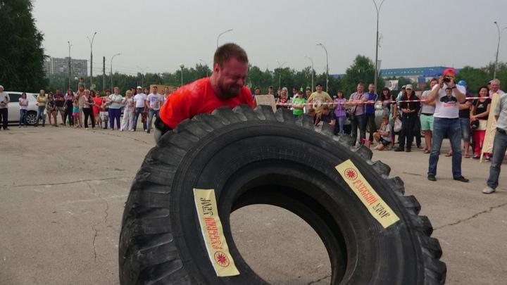 В Тольятти у организаторов турнира Богатырские игры украли инвентарь весом в 270 кг