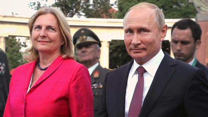 Западные СМИ ищут тайный смысл в поездке Путина на свадьбу австрийского министра
