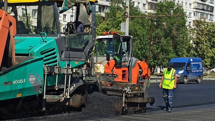 В Челябинске мэрия на осень запланировала дополнительно ремонт десяти дорог