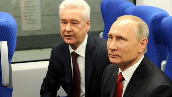 Путин придумал, как неотрывно следить за работой Собянина