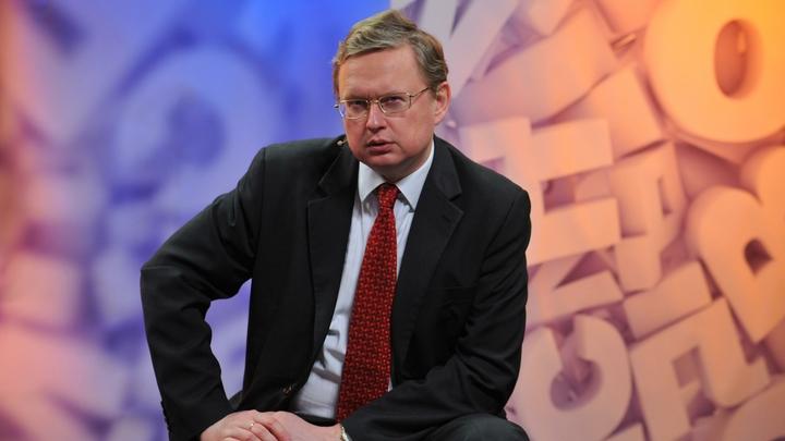 У нас рост. Только отрицательный: Экономист Делягин рассказал анекдот про Медведева