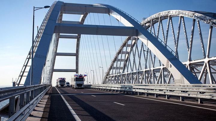 На Украине вновь беда с несуществующим Крымским мостом