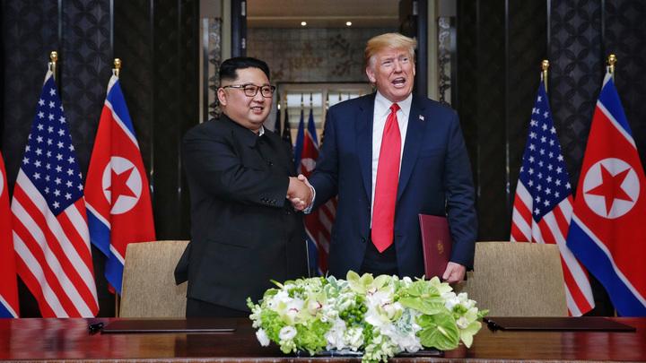 Трамп и Ким Чен Ын могут снова встретиться лицом к лицу