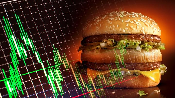 Новый «индекс Бигмака» показал, что цена доллара – 20 рублей