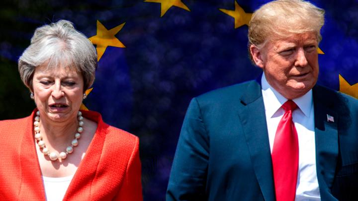 ЕС сменит режим в Британии, чтобы досадить США