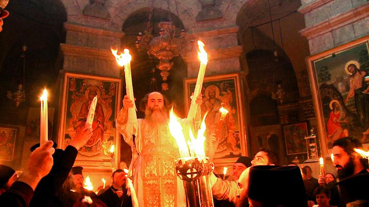 Схождение Благодатного огня сможет увидеть каждый: Коронавирус чуду не помеха