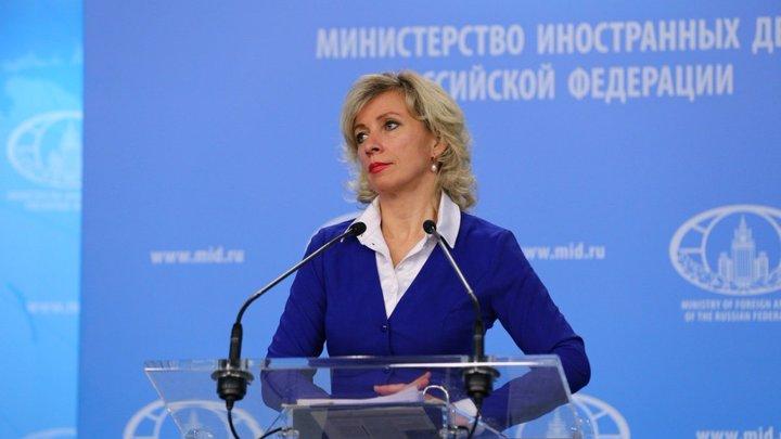 Оскорбление, драка и никчёмность полиции: Захарова прокомментировала инцидент с Сивохо
