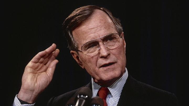 Ещё один фокус западной пропаганды: В Сети не поверили в признание Бушем-старшим реальности краха США