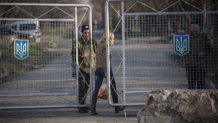 ФСБ: Границу между Крымом и Украиной закрыли по техническим соображениям