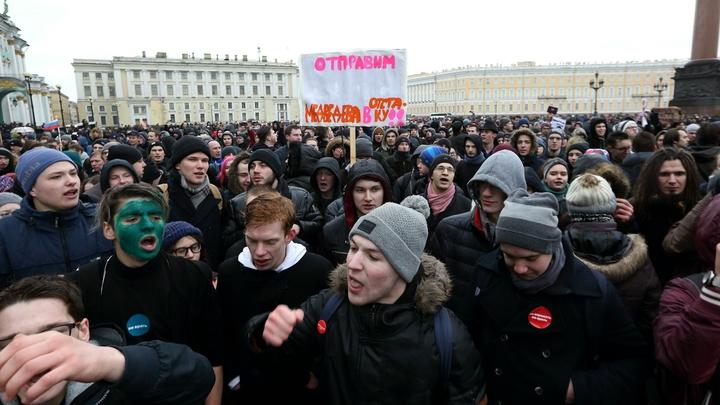 Навальнята решили бороться с Путиным зеленкой