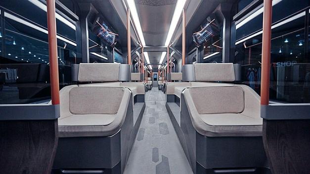 Новый трамвай Уралвагонзавода настолько инновационный, что его пришлось замаскировать