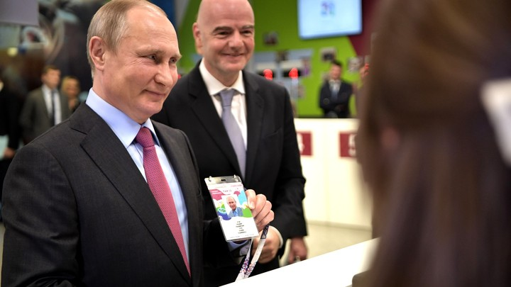 Джанни Инфантино: Россия полностью готова к ЧМ-2018