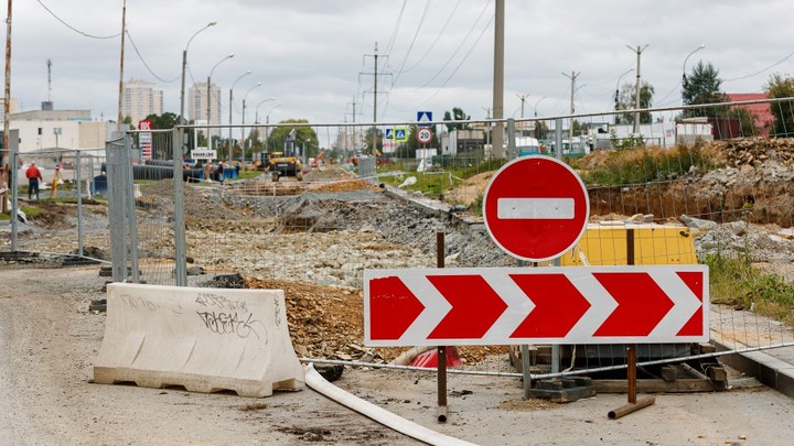 В Екатеринбурге на целый месяц перекроют движение по Второй Новосибирской