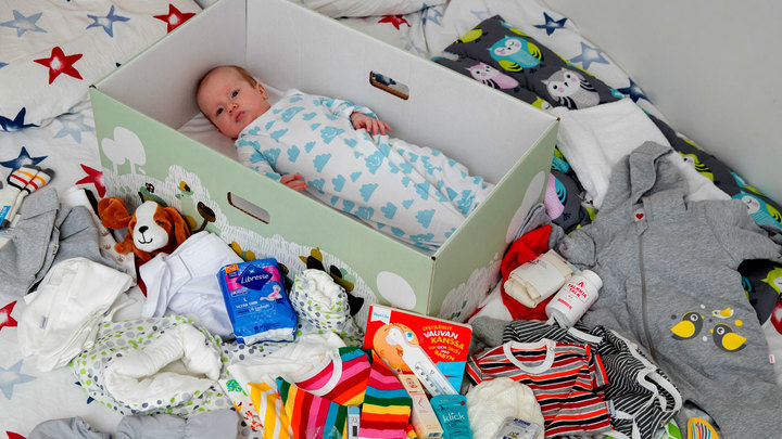 В Краснодаре новорожденным детям будут давать подарки: кому полагается коробка