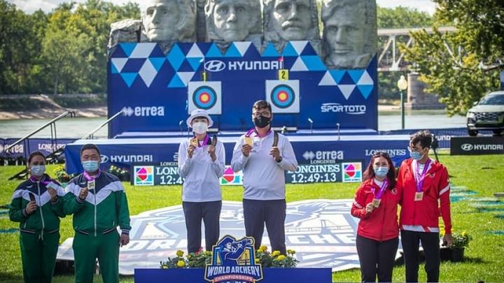 Галсан Базаржапов завоевал серебро Чемпионата мира по стрельбе из лука в США