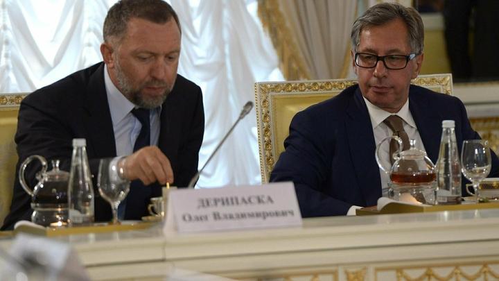 РусАл официально выдвинул Дерипаску и Волынца в совет директоров Норникеля