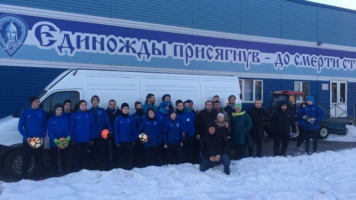 Объединение фанатов Зенита Невский фронт: Донбасс – это русское Косово!