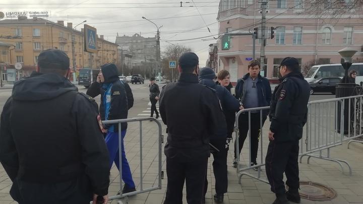 Несанкционированная акция в Чите обошлась без задержаний