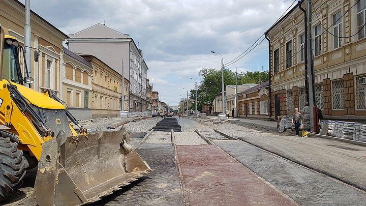 Рельсы в асфальт и - банкротство: В Ростове продают компанию, провалившую ремонт ул. Станиславского