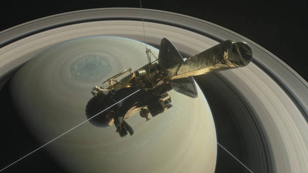 Зонд Кассини: Топ-5 видео путешествия корабля-самоубийцы в кольцах Сатурна