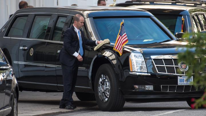 На случай зомби-апокалипсиса: Cadillac Трампа оснастили особым вооружением