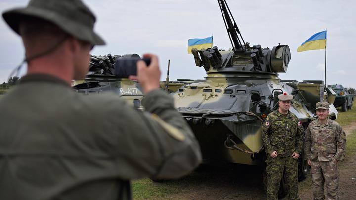Киев похвалился «захватом» штаба военных США