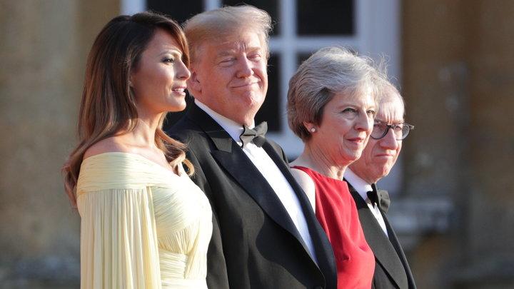 Белый, синий и красный: Трамп распорядился перекрасить «борт №1» в триколор
