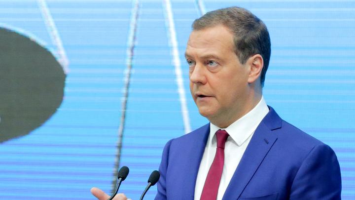 Киев возмутил сам факт приезда премьера Медведева в давно уже российский Крым