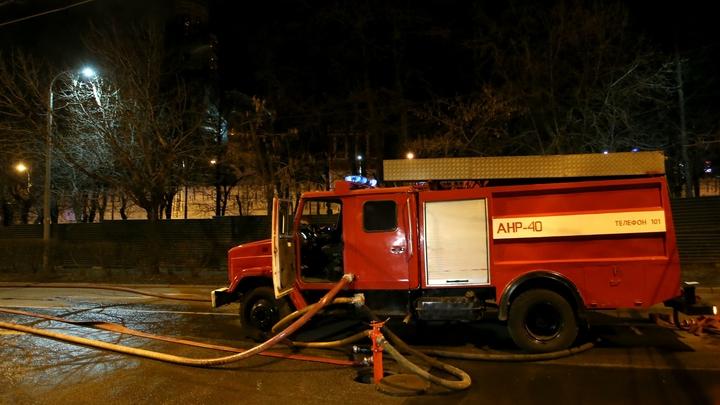 Пожар уничтожил пилораму и 16 садовых домов в Екатеринбурге