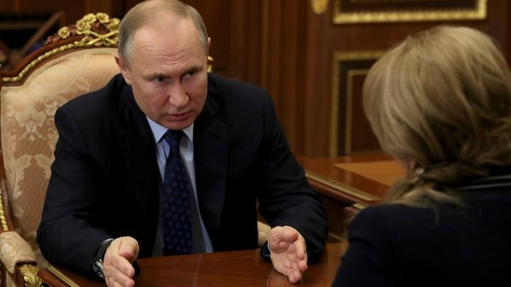 Памфилова эмоционально высказалась на встрече с Путиным: Пусть со мной кто-нибудь поспорит…