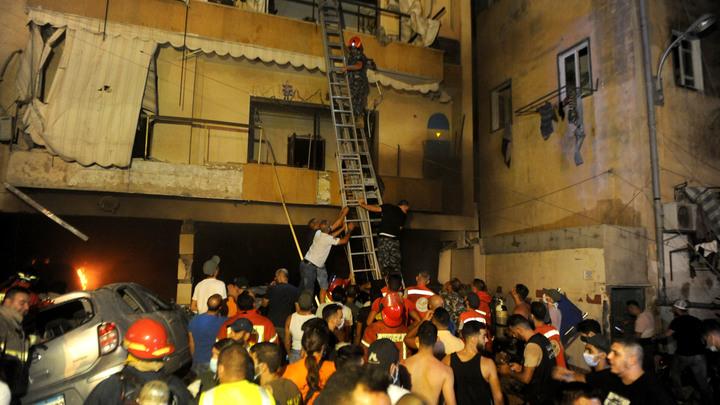 Бейрут сотрясся от нового масштабного взрыва. Есть жертвы и пострадавшие