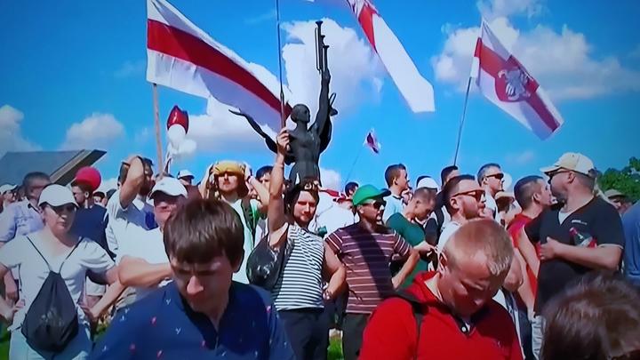 Оппозиция Белоруссии устроила в Минске Цепь покаяния