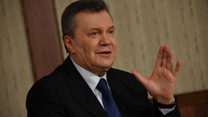 Рад вас видеть без петли: Янукович прокурорской поговоркой парировал Цимбалюку