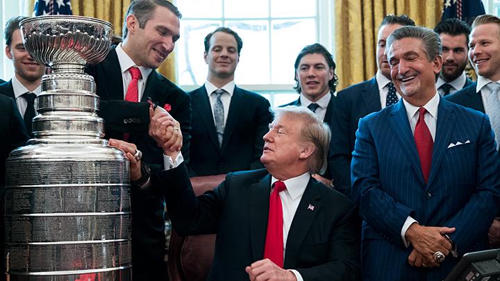 Русские парни в Белом доме: Как Александр Овечкин к Трампу сходил