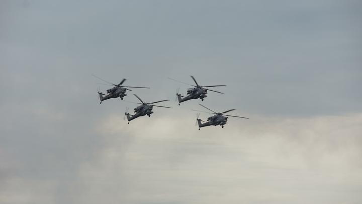 Русский вертолетчик рассказал о «воздушном сафари» на сирийских террористов