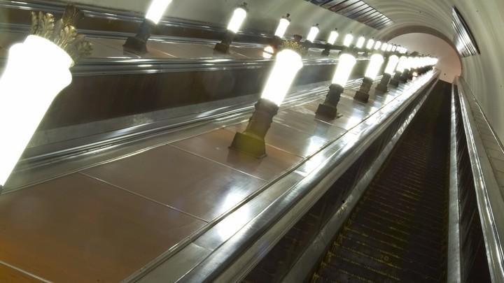 Движение на салатовой ветке метро Москвы парализовал сломавшийся поезд