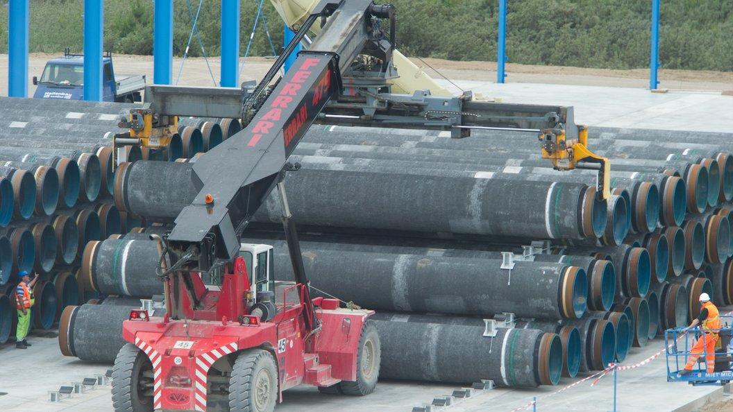 США рассчитывают, чтоЕС остановит строительство «Северного потока— 2»