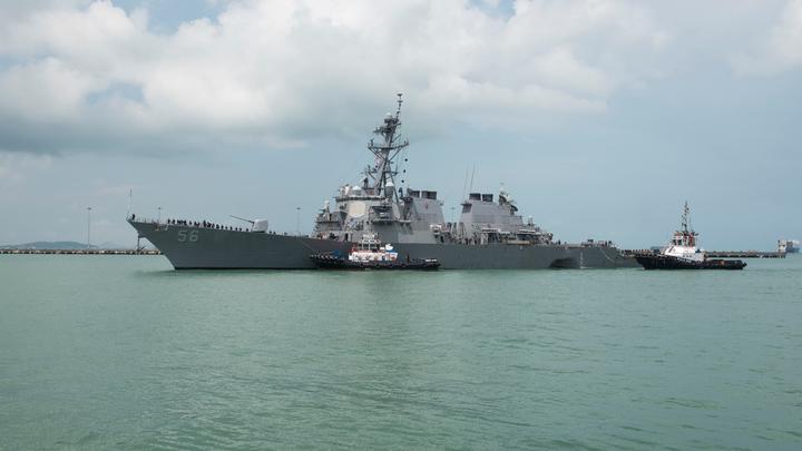 Джон Маккейн вторгся в Китай: США грубо нарушили морские границы Поднебесной - КНР