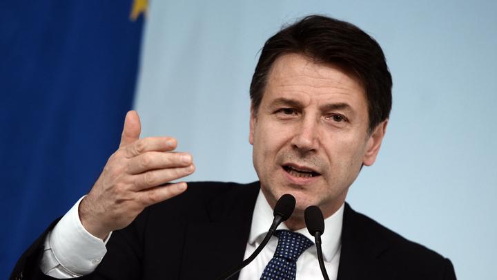 Италия продолжает бороться за снятие санкций с России - премьер Джузеппе Конте
