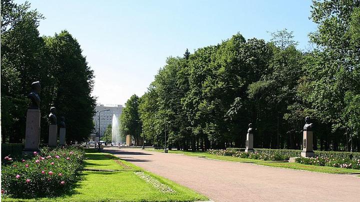 В Петербурге своё 75-летие отметит Московский парк Победы