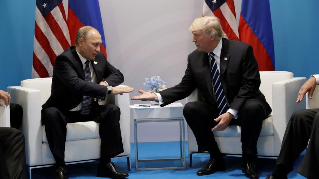 Переговоры Путина и Трампа заняли 2 часа 15 минут