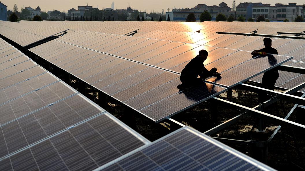 В Китае построили электростанцию-панду мощностью до 100 МВт