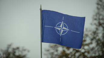 В Македонии сожгли флаг НАТО, когда альянс потребовал сменить имя страны