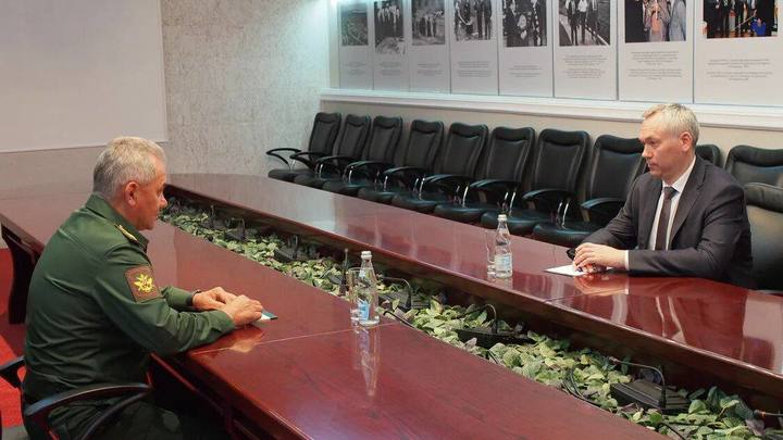 Сергей Шойгу и Андрей Травников обсудили цифровое будущее военкоматов