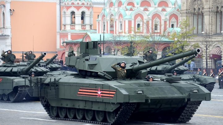 Ростех: В 2019 танки Т-14 Армата начнут поступать в войска России