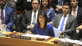 Никки Хейли пригрозила химатаками в США, если Асад не будет сброшен